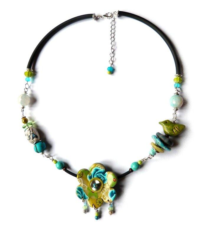 collier vert et turquoise_mid 1