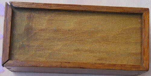 Boîte en bois - Briquet de marin ancien