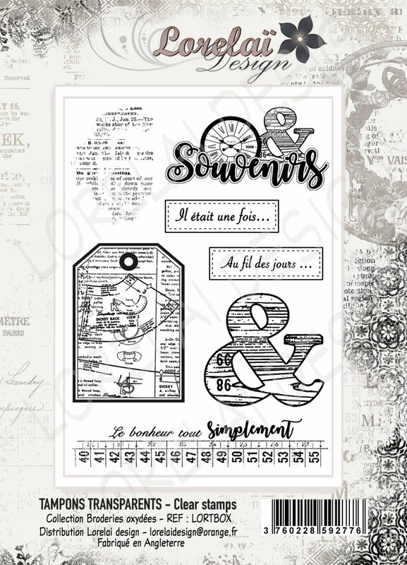 BRODERIES OXYDEES PLANCHE A6 BOUTIQUE