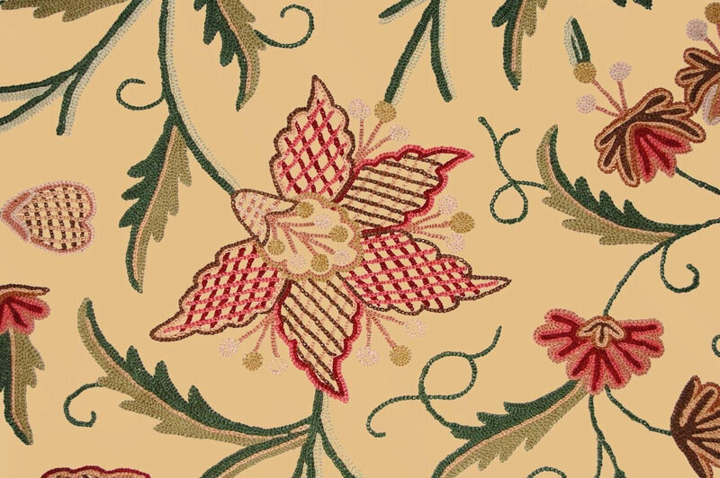 custom_crewel_embroidered_fabric_3366B