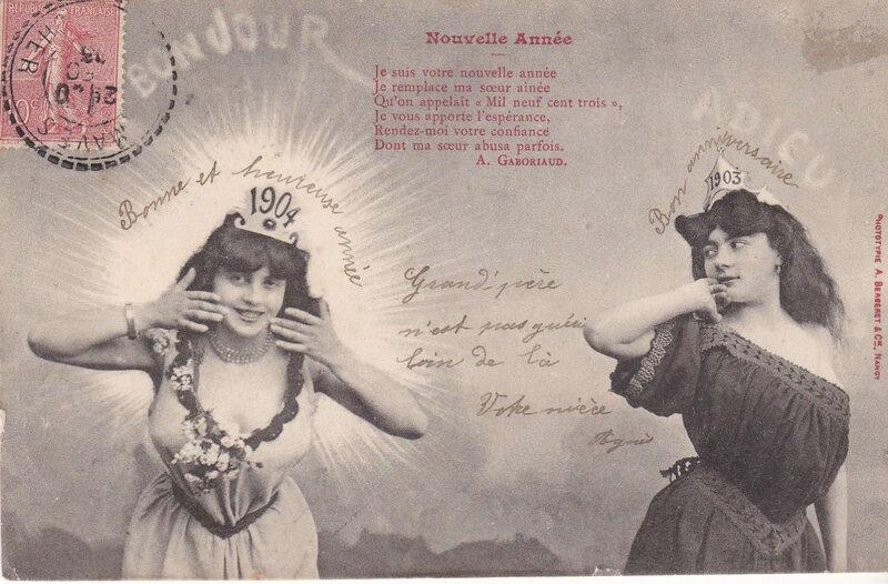 Carte de voeux 1904