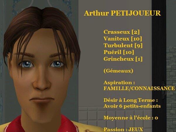 Arthur PETIJOUEUR