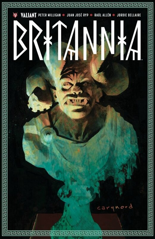 Bliss Valiant Britannia par Peter Milligan