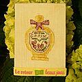 Parfum précieux de Francine
