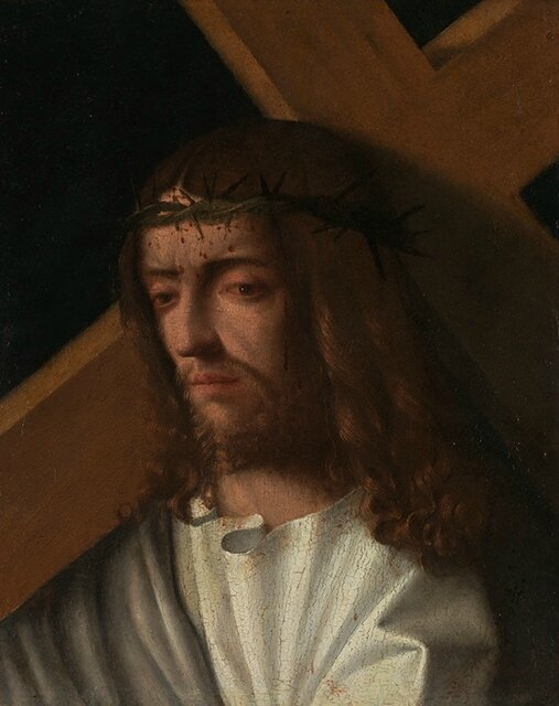 Italian, Venetian, Christ Carrying the Cross, about 1500