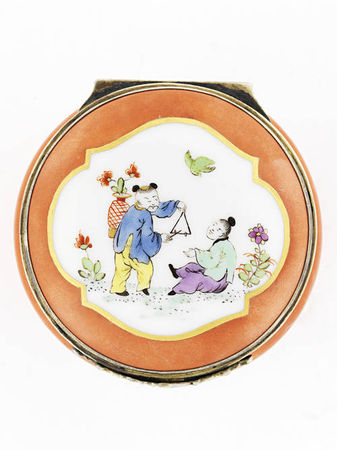 An_extremely_rare_Meissen_silver_gilt_mounted_red_ground_circular_snuff_box2