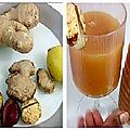 Ail + cola + gingembre + miel