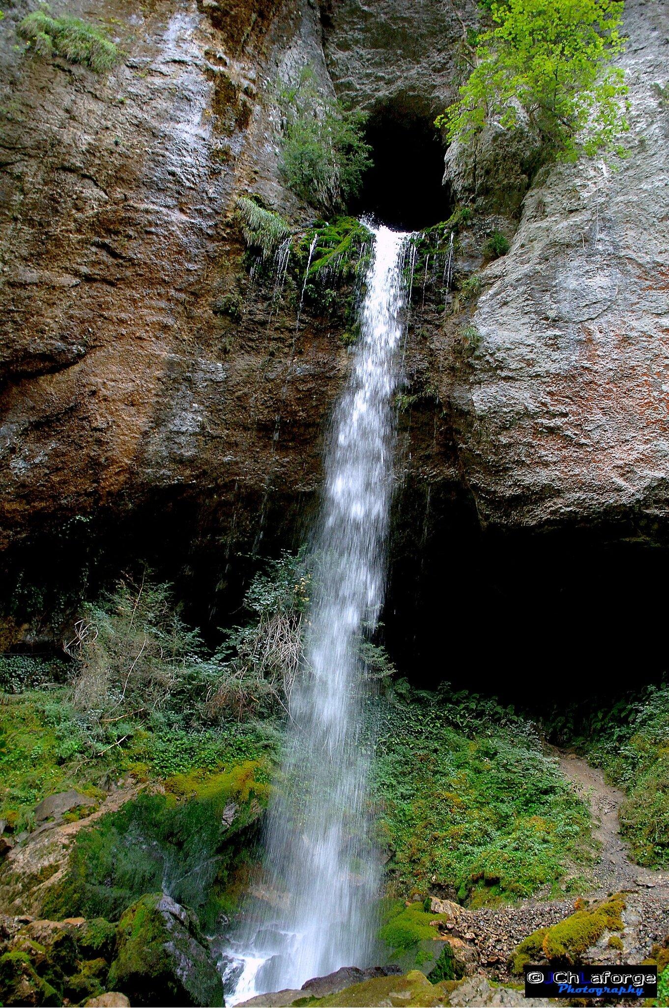 La cascade de Kakouetta.