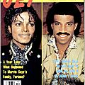 Michael jackson and lionel richie's song earns millions for africa's famine victims - jet, 8 avril 1985
