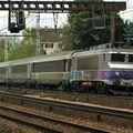 BB 7246 'en voyage' à Boussy. (Photo Erebos)