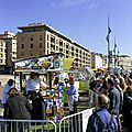 Journée anti gaspi pour les chefs gourméditerranée - vieux port de marseille -
