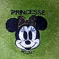 Serviette de toilette Minnie