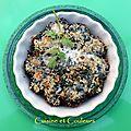 Cuori di carciofi con spinachi ( coeurs d'artichauts aux épinards ) recette du piémont et val d'aoste