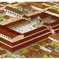 Vue aérienne du Forum