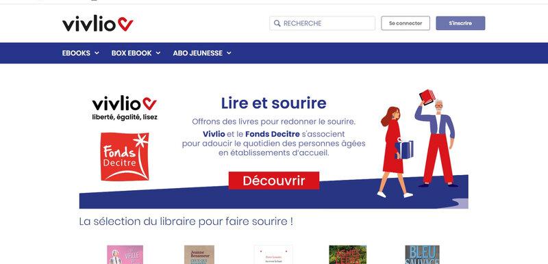 Hausse de l'utilisation de la plateforme de livre numérique Vivlio