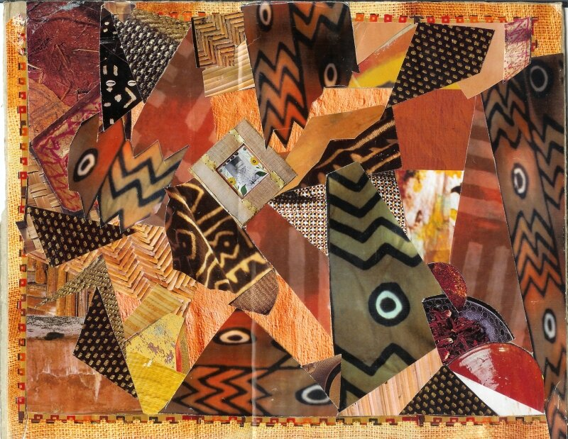 Africa brown (22X27,5)