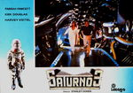 Saturn 3 lobby card espagnole 4