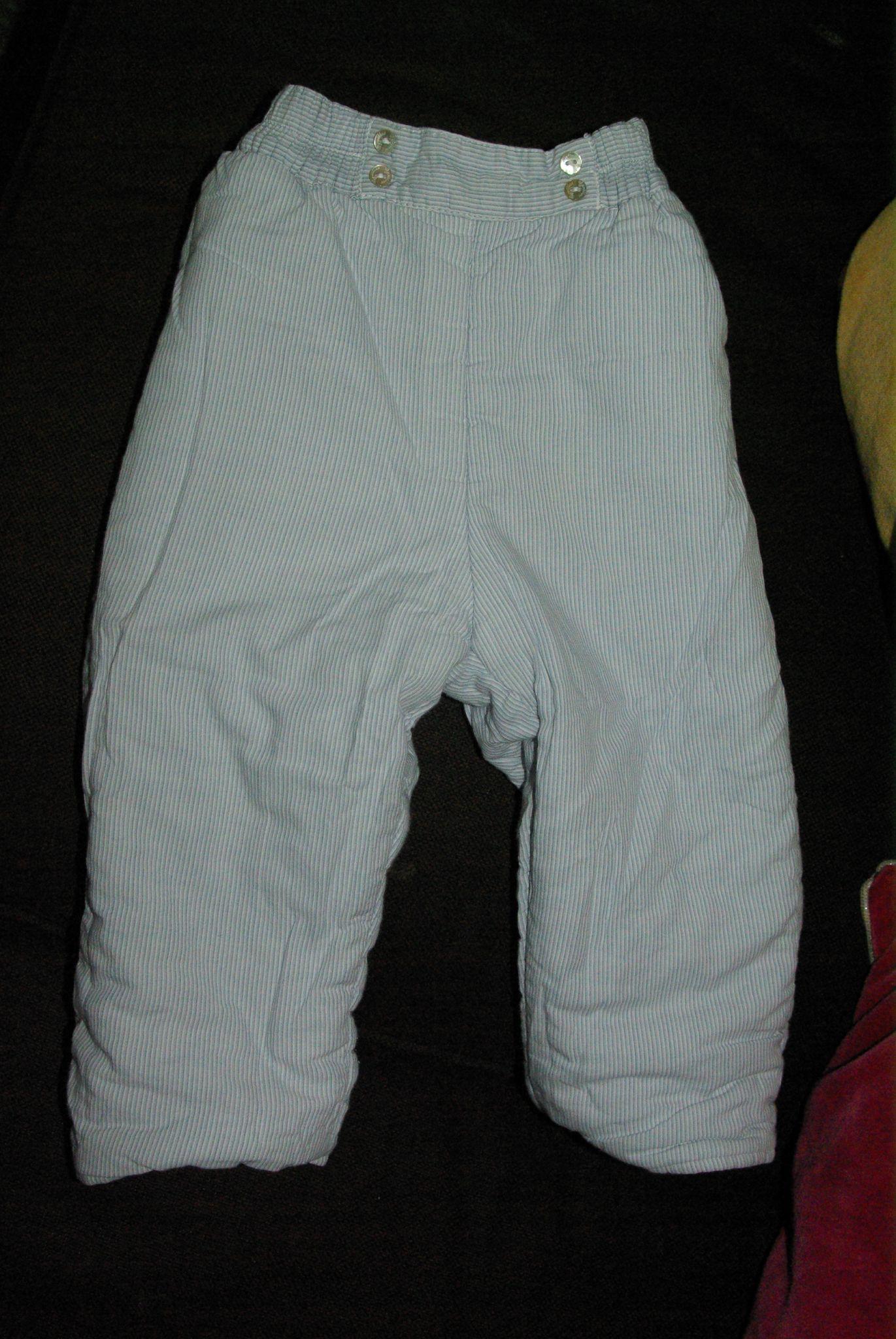 Pantalon réversible Cyrillus 6 mois 5 E autre côté