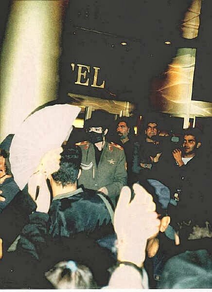 Michael visits Zaragoza Spain 1996 (16)