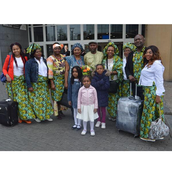 Belgique- Cameroun, Semaine culturelle de la Famille Bamena de Belgique: Sa Majesté Joukwé Alexandre, chef supérieur des Bamena