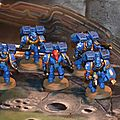 Escouade d'assaut space marines