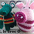 Crocodile ou alligator au crochet ?