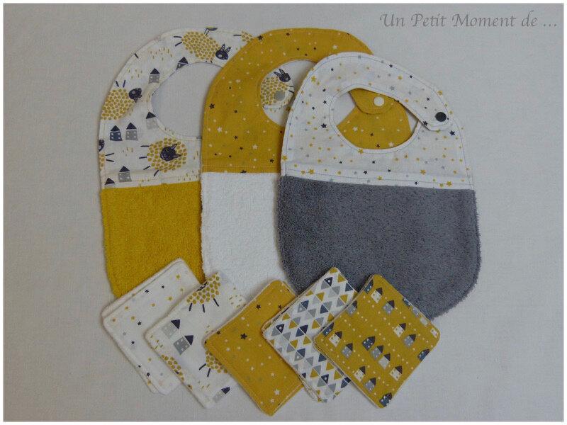 Ensemble jaune et gris 1
