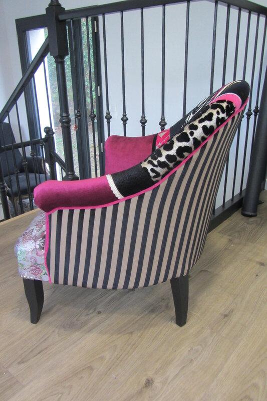 acheter un fauteuil en patchwork
