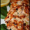 P'tits palets de saumon à la dijonnaise