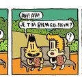 Strip 23 / bill et bobby / le sandwich (suite)