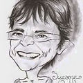 Caricature grand mère