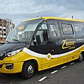 IVECO Indcar Wing minibus Z'éclair Car Jaune Saint Denis (1)