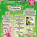 13ème foire artisanale biologique et équitable à la farlède #14 et 15 avril 2018