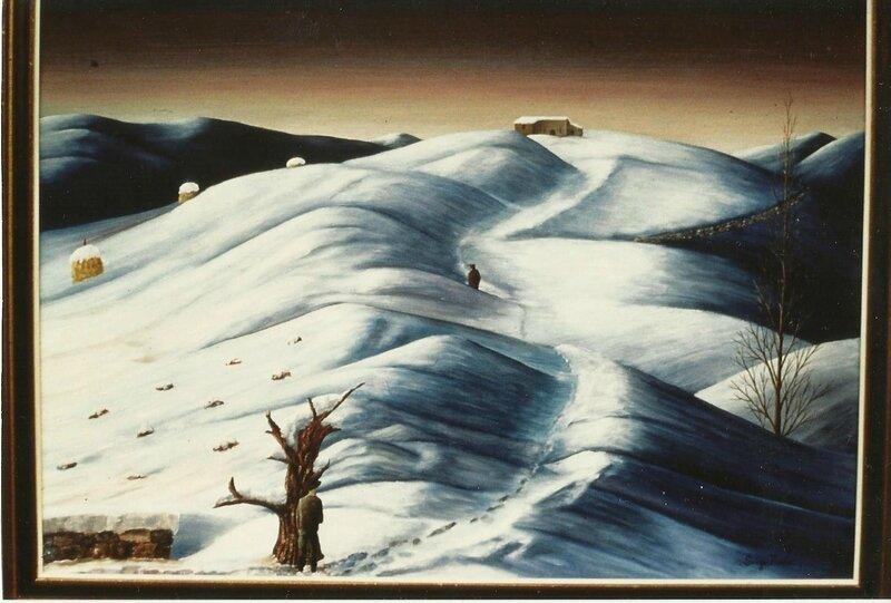 Cavalier bis dans la neige 40F