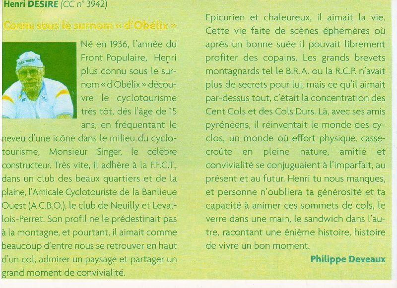Notre Ami Henri Désiré.....