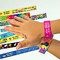 Ceux qui synchronisaient leurs bracelets et rassuraient maman !