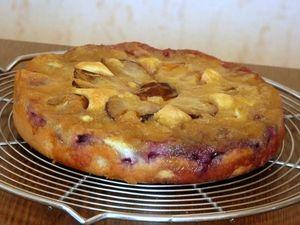 Gâteau aux quetsches en 2 cuissons (25)