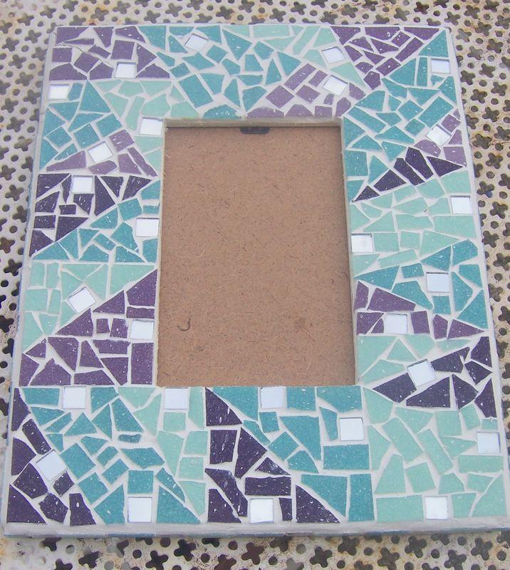 Cadre photo en Mosaique