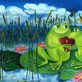 amour de grenouille