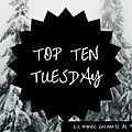 Top ten tuesday ~ 138 : vos 10 romans que vous avez lus ou aimeriez lire dont la couverture met en scène des gros plans de jambe