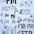 4 lettres .... et la fin !