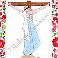 CF croix d'anjo rouge