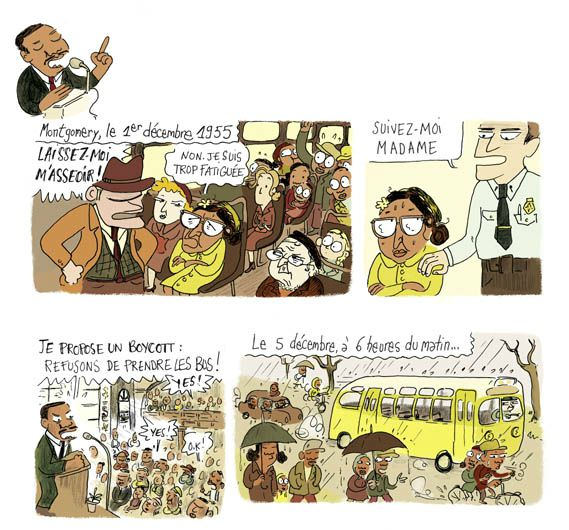 Luther King + Rosa Parks