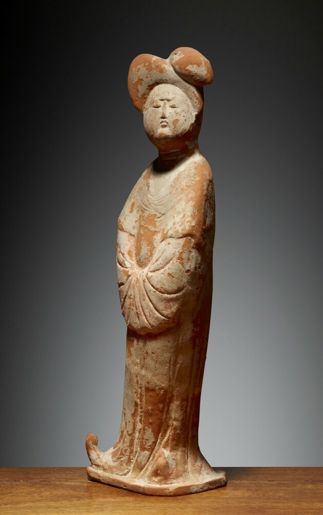 Dame, Chine, Dynastie des Tang (618 – 907), 8°siècle