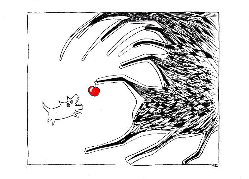 chien & pomme
