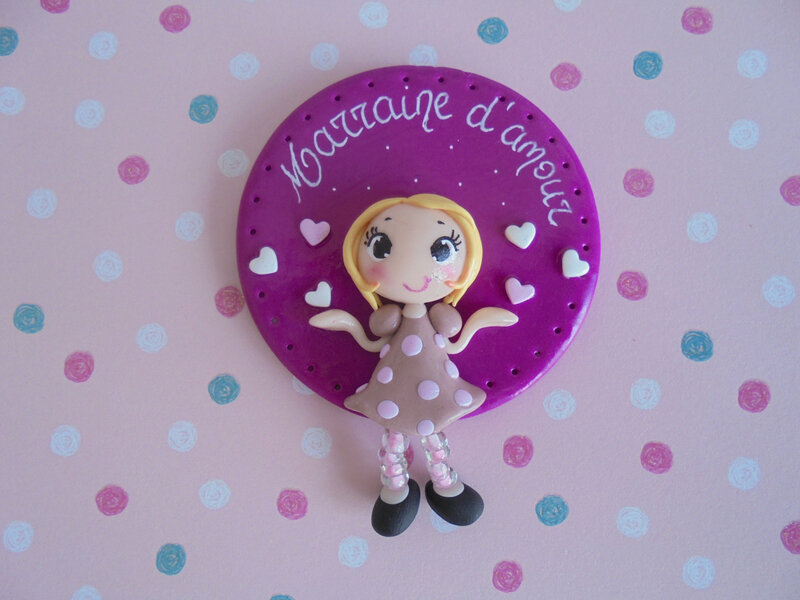 badge marraine d'amour