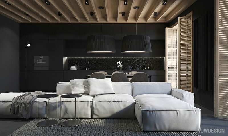 modern-home-with-black-walls