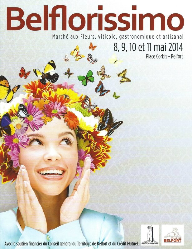Affiche Belflorissimo 2014