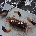 Buche express chocolat speculos