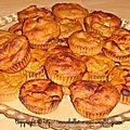 Muffins aux saveurs automnales